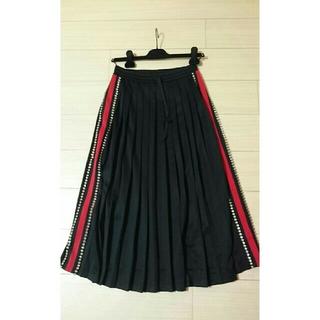 グッチ(Gucci)のグッチ クリスタルつきスカート GUCCI(ロングスカート)