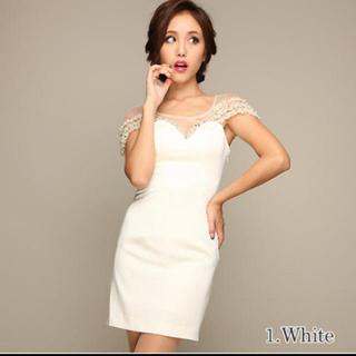 エミリアウィズ(EmiriaWiz)のAlice ホワイトドレス ♡キャバクラドレス(ミニドレス)