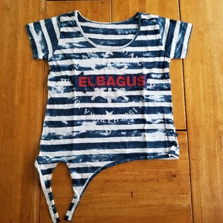 エルロデオ(EL RODEO)のELRODEO★裾結びTシャツ(Tシャツ(半袖/袖なし))