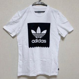 アディダス(adidas)の【新品M】adidas アディダス Tシャツ 白 ホワイト Mサイズ(Tシャツ/カットソー(半袖/袖なし))