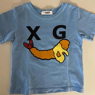 エックスガールステージス(X-girl Stages)のxgirl stages Tシャツ 100(Tシャツ/カットソー)
