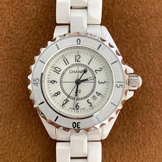 シャネル(CHANEL)のジャンク品 chanel 腕時計 レディース J12(腕時計(アナログ))