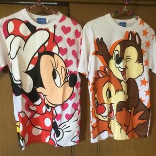 チップアンドデール(チップ&デール)のDisney resort[チップ&デール ミニーマウス]Tシャツ 2着売り(Tシャツ(半袖/袖なし))