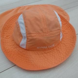 モンベル(mont bell)のmont-bell baby's サハラハット オレンジ(帽子)
