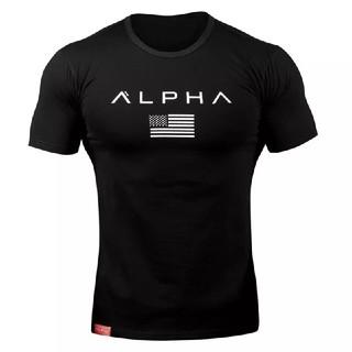 アルファ(alpha)の【新品・未使用】ALPHA/アルファ Tシャツ/ Mサイズ ブラック(Tシャツ/カットソー(半袖/袖なし))