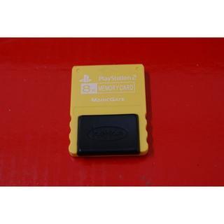 プレイステーション2(PlayStation2)のケムコ PlayStaion2用メモリーカード 8MB イエロー(携帯用ゲームソフト)