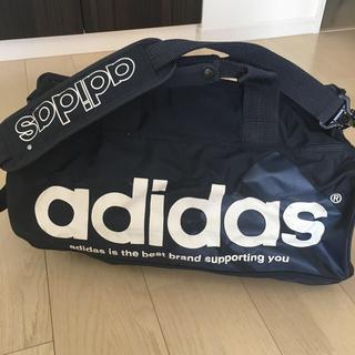 アディダス(adidas)のアディダス ネイビー ボストン(トラベルバッグ/スーツケース)