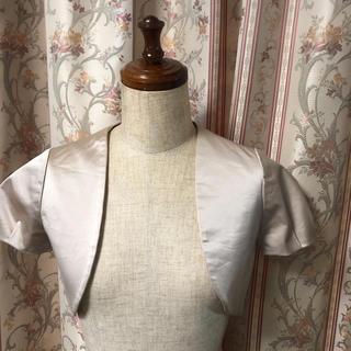 ジルスチュアート(JILLSTUART)のジルスチュアート ドレスの上にボレロ(ボレロ)