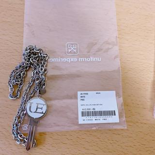 ユニフォームエクスペリメント(uniform experiment)のuniform experiment 鍵ネックレス(ネックレス)
