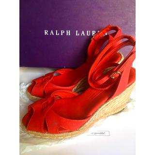 ラルフローレン(Ralph Lauren)のRalph Lauren correction ウェッジソールサンダル(サンダル)