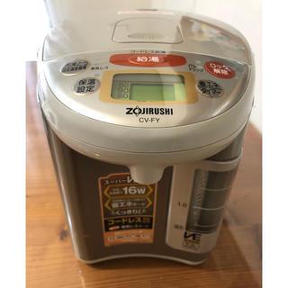 ゾウジルシ(象印)の象印 電気ポット マイコン沸とう電気まほうびん CV-FY22型(電気ポット)