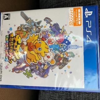 新品未開封 チョコボの不思議なダンジョン エブリバディ PS4(家庭用ゲームソフト)