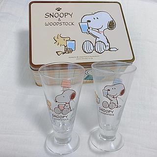 トウヨウササキガラス(東洋佐々木ガラス)のSNOOPY☆*:ジュースグラスセット(グラス/カップ)