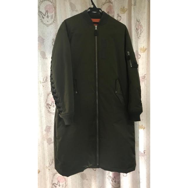 G.V.G.V.(ジーヴィジーヴィ)のgvgv ma-1  ロング  カーキ レディースのジャケット/アウター(ロングコート)の商品写真