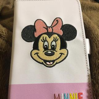 ディズニー(Disney)のミニーちゃんスマホケース 手帳型♡(Androidケース)