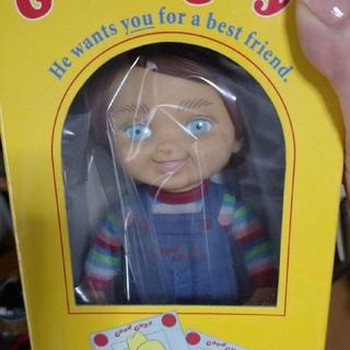 ユニバーサルスタジオジャパン(USJ)のチャイルドプレイ チャッキー フィギュア グッドガイ人形(SF/ファンタジー/ホラー)