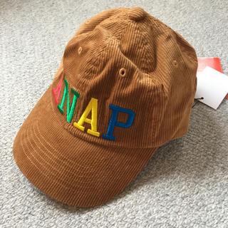 アナップキッズ(ANAP Kids)のアナップキッズ キャップ 帽子 52cm 新品(帽子)
