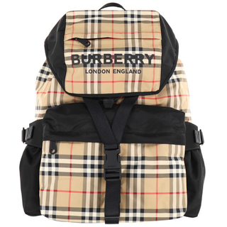バーバリー(BURBERRY)のBurberry リュック バックパック チェック(バッグパック/リュック)