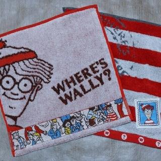 ウォーリー(WOLY)の【ウォーリー】ミニタオル 2枚set(ハンカチ)