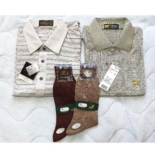 ゴールデンベア(Golden Bear)の靴下&半袖ポロシャツセット(その他)