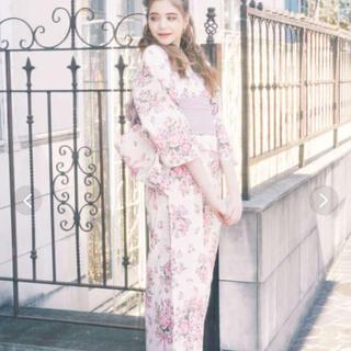 メゾンドフルール(Maison de FLEUR)の送料込み メゾンドフルール 2020  浴衣 巴里のブーケ浴衣(浴衣)