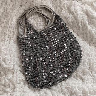 スパンコール編みバッグ(その他)