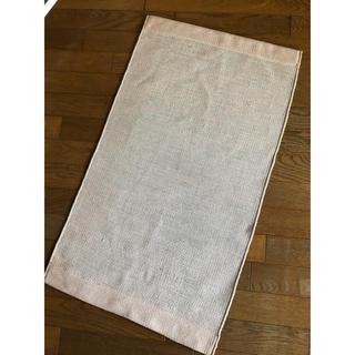 ムジルシリョウヒン(MUJI (無印良品))の無印インド綿手織りマット(ラグ)