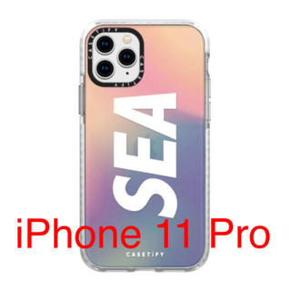 シー(SEA)のwind and sea CASETify iPhone11 pro  ケース(iPhoneケース)