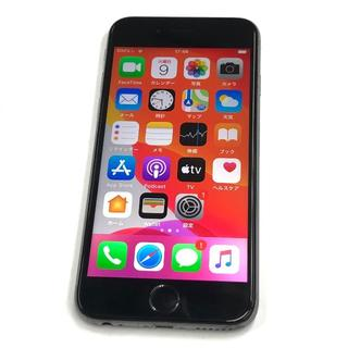 アップル(Apple)のSIMフリー iPhone6S 64GB シルバー バッテリー新品 〇判定(スマートフォン本体)