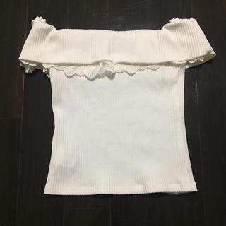 リゼクシー(RESEXXY)のRESEXXY オフショルトップス(カットソー(半袖/袖なし))