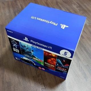プレイステーションヴィーアール(PlayStation VR)のPlayStationVR MEGAPACK 新品 未使用 未開封(家庭用ゲーム機本体)