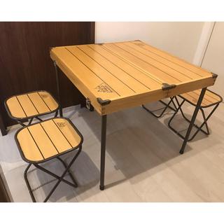 コールマン(Coleman)のウッド ピクニックテーブル サウスフィールド キャンプ コールマン アウトドア(テーブル/チェア)