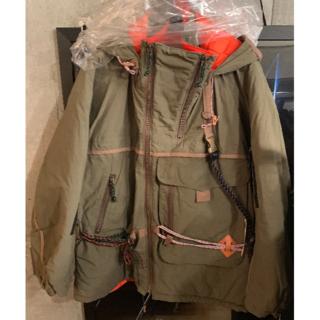 カラー(kolor)のkolor フーデットジャケット(ミリタリージャケット)