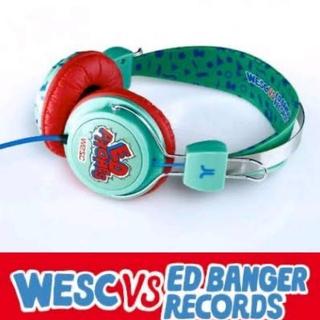 ウィーエスシー(WeSC)のwesc × ED BANGER RECORDS ヘッドフォン ウィーエスシー(その他)
