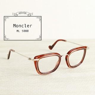 モンクレール(MONCLER)の未使用 国内未入荷 MONCLER モンクレール べっこう ウェリントン メガネ(サングラス/メガネ)