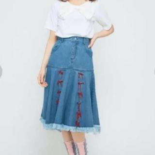 メリージェニー(merry jenny)のメリージェニー♡スカート(ひざ丈スカート)