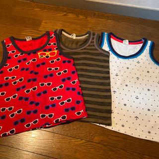 バックナンバー(BACK NUMBER)の☆3枚セット☆BACKNUMBER  MPS タンクトップ 120cm(Tシャツ/カットソー)