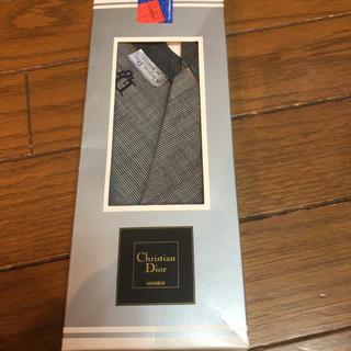 クリスチャンディオール(Christian Dior)のメンズ ブランドハンカチ 新品未使用(ハンカチ/ポケットチーフ)