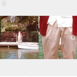 シュプリーム(Supreme)のGOLF Le Fleur Chino Pants LG/34 pink(チノパン)