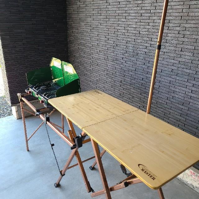 Coleman(コールマン)のコールマン オールインワンキッチンテーブル インテリア/住まい/日用品の机/テーブル(アウトドアテーブル)の商品写真