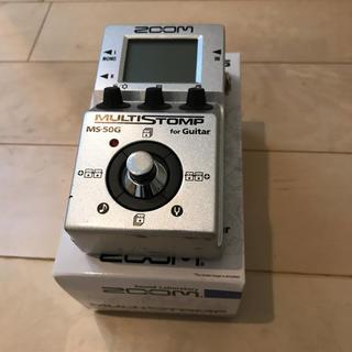 ズーム(Zoom)のzoom マルチストンプ MS-50G マルチエフェクター(エフェクター)