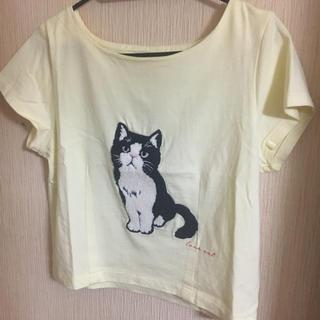 ダズリン(dazzlin)のdazzlin キャットTシャツ(Tシャツ/カットソー(半袖/袖なし))