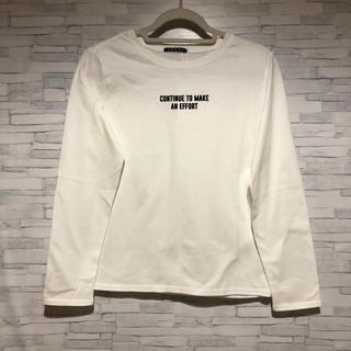イング(INGNI)のINGNI ロンT ホワイト 新品(Tシャツ(長袖/七分))