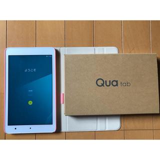 キョウセラ(京セラ)の値下げ qua tab 01 ⭐︎ ホワイト⭐︎(タブレット)