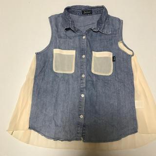 ジェニィ(JENNI)のJENNI 150 シースルーノースリーブシャツ(ブラウス)