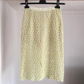 バーニーズニューヨーク(BARNEYS NEW YORK)のミュラー ロータススカート(ひざ丈スカート)