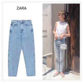 ザラ(ZARA)のかなり美品!!ZARAハイウエストデニム34インチ(デニム/ジーンズ)