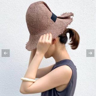 イエナ(IENA)の【La Maison de Lyllis/ラメゾンドリリス】FOLD(麦わら帽子/ストローハット)
