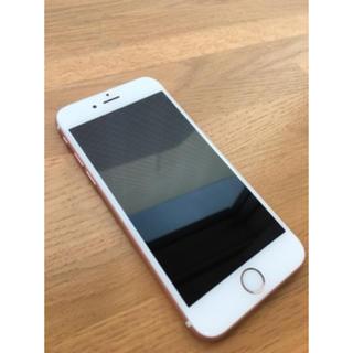 アイフォーン(iPhone)のiPhone6s  ローズゴールド16GB 極美品!!!(スマートフォン本体)