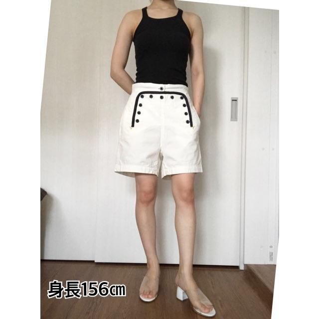 sacai luck(サカイラック)の▲sacai サカイ▲  ショートパンツ 白 ホワイト レディースのパンツ(ショートパンツ)の商品写真